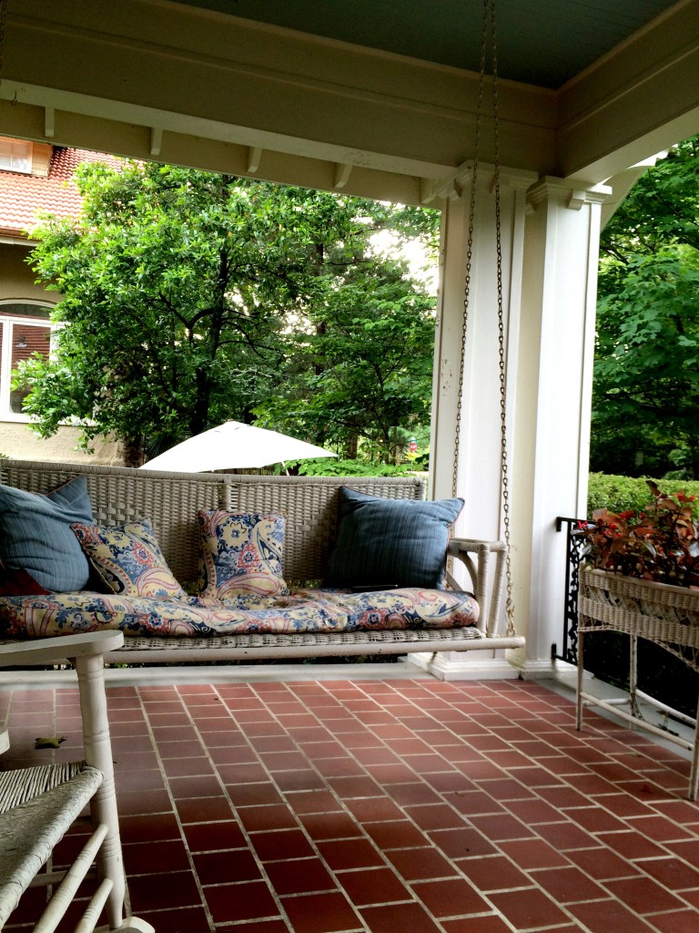 Treadway porch in Belhaven