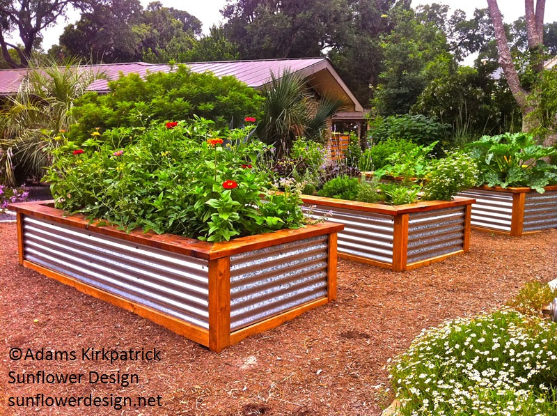 raised beds metal