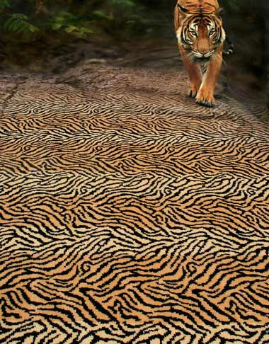 tiger prints in decorating