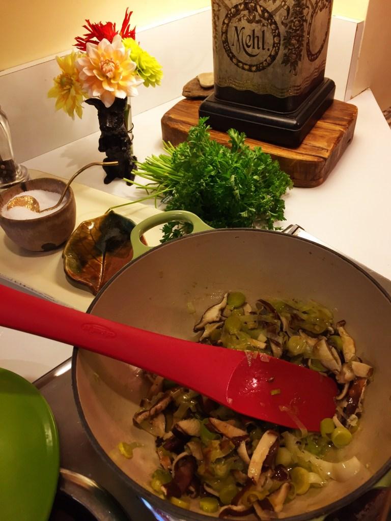 Ina Garten Cream of Mushroom Soup