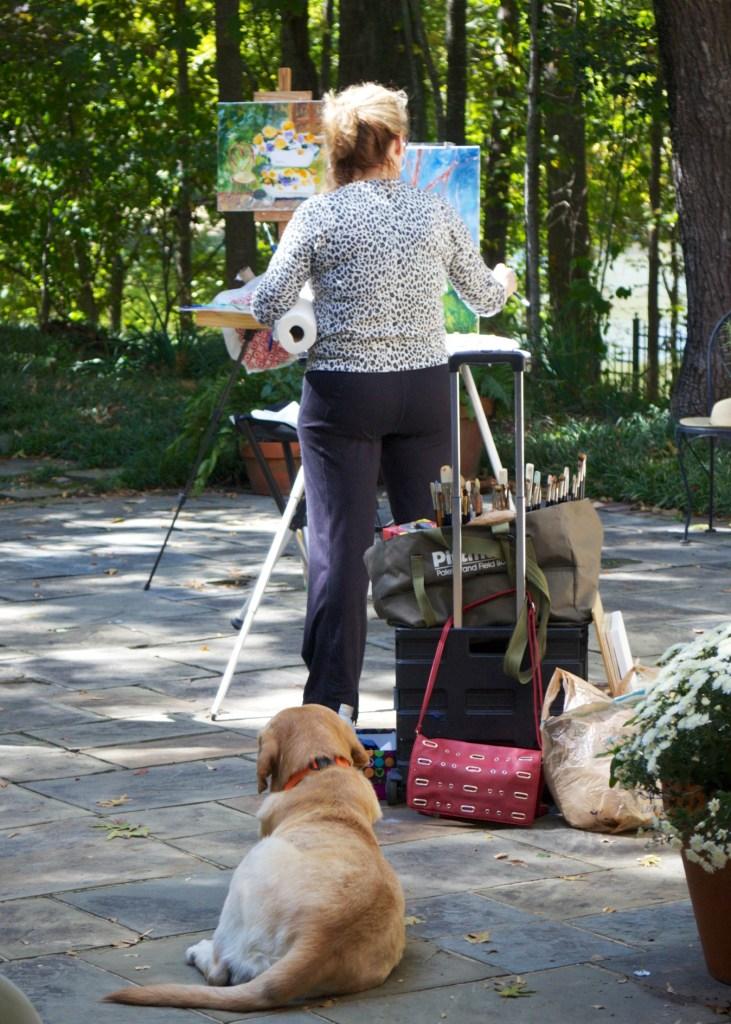 Jill Steenhuis art workshop in Jackson