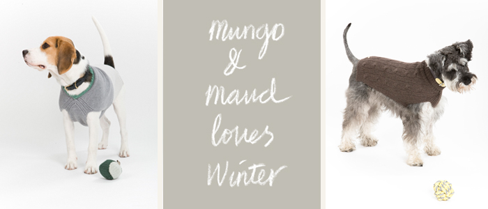 Mungo and Maud AW13 pullovers