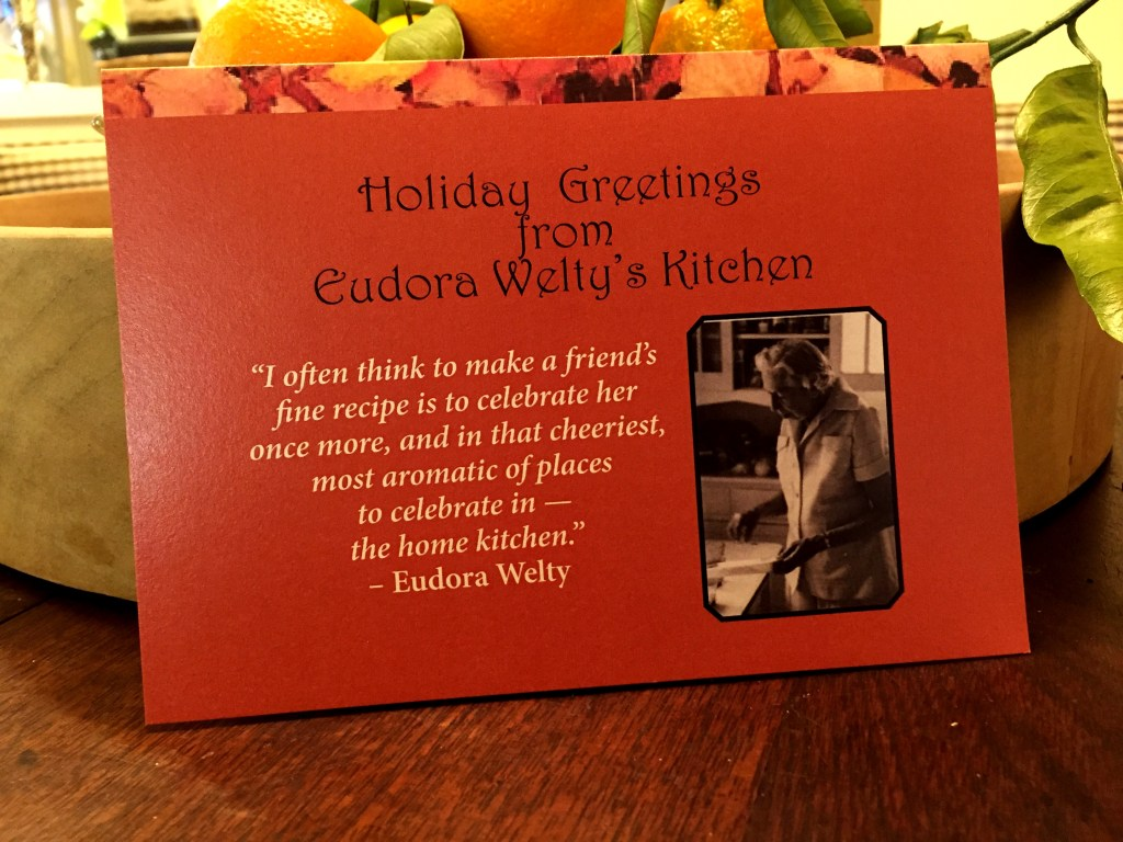 Holiday Greetings From Eudora Welty's Kitchen