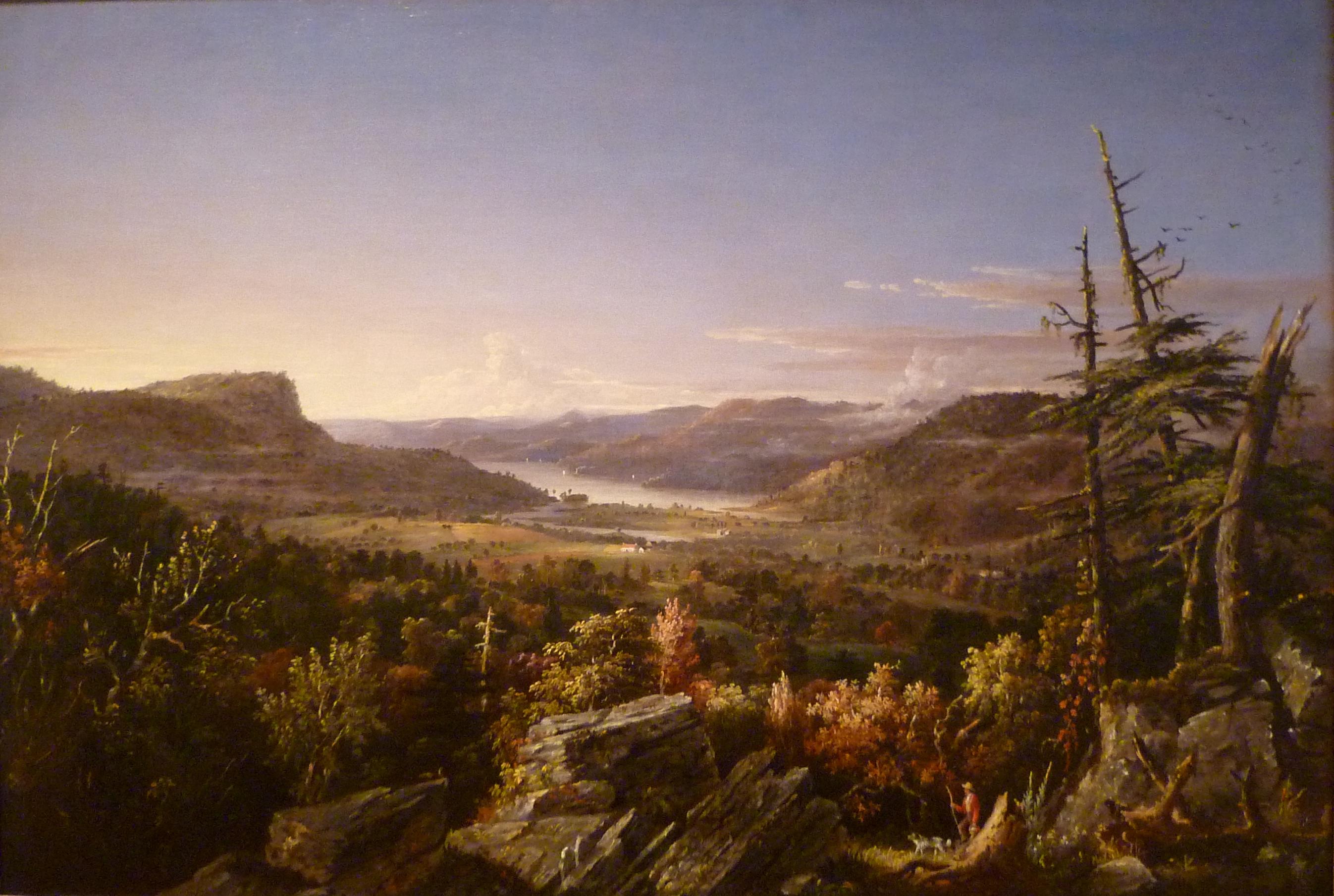 Manifest Destiny And The Hudson River Painters A Pigment