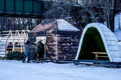3 warming huts