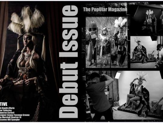 Primitive BTS - The PopUlar Magazine debut issue - Marshall Artz Studio