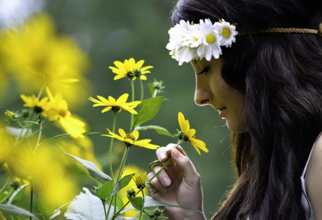 Flower Child - A Themed Photoshoot - Model Brittany Clerici - Photography by Marshall Shartzer III