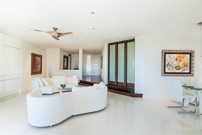 Living Room, Wailea Condominium Renovation
