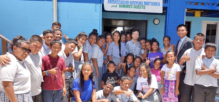 Ebeye SDA gets Japan help