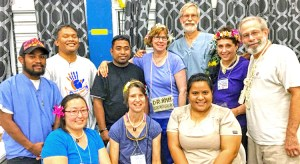 Dozens of Marshallese and American volunteers have joined with Ministry of Health and Human Services staff to support the mass TB/leprosy screening program that started June 12 in Majuro and is ongoing into September.