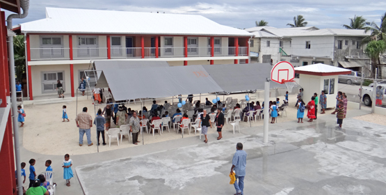 New school celebrated