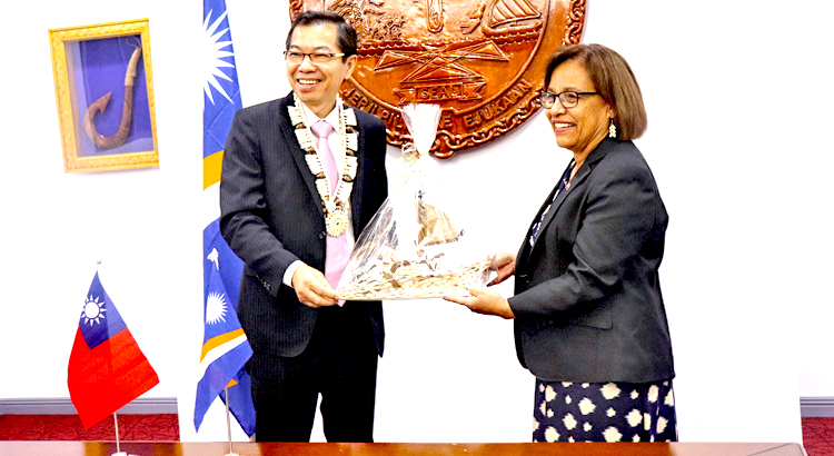 New ROC envoy in Majuro