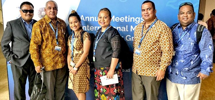 RMI attends global financial meeting
