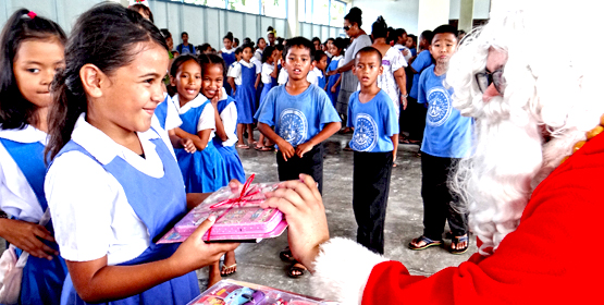 Holiday spirit hits Majuro