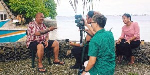 MISA 4 Pacific's Anfernee Kaminaga and Danity Laukon interview Alson Kelen with cinematographer Chewy Lin.