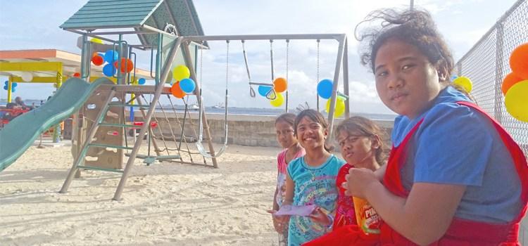 Jenrok gets new playground