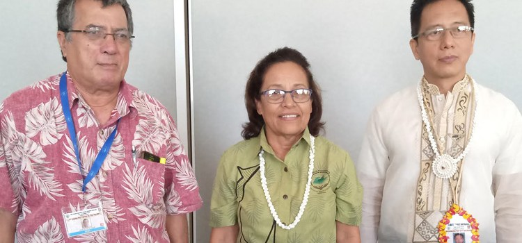 Hilda reels in climate aid