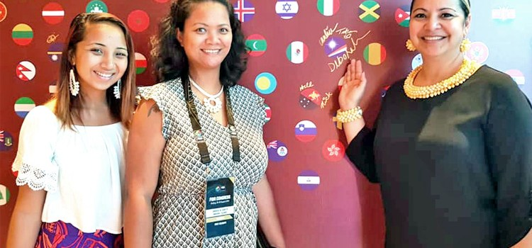 Women rep RMI at FIBA World Cup