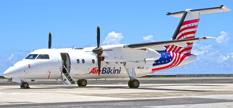 Air Bikini Dash-8 arrives