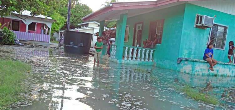 Majuro hit by flooding