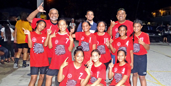 Majuro Coop girls power to title