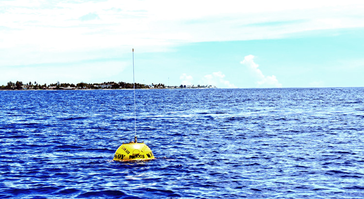 What's that ocean buoy for?