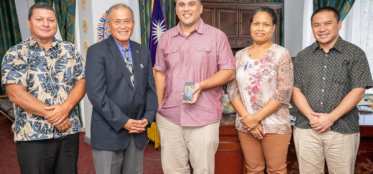 Business talks with President Kabua