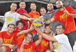 Volleyball grabs Laura crowd's attention