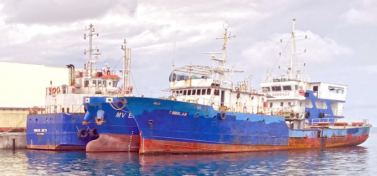 Faulty fleet hurts copra tonnage