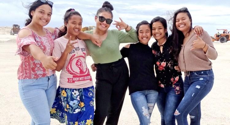 Ebeye b-ball girls make history
