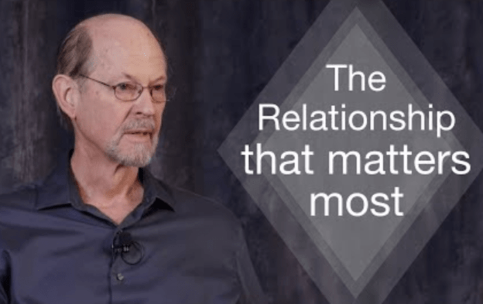 the relationships that matter most