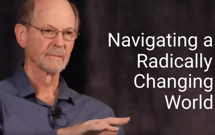 how to navigate a radically changing world
