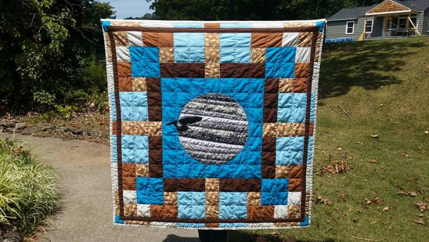 Star Trek Quilt Heather
