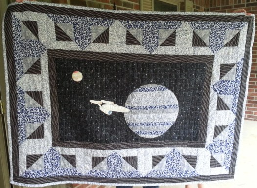 Star Trek Quilt - Alan