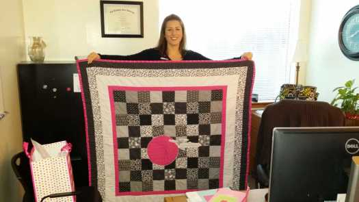 Star Trek Quilt-  Kate