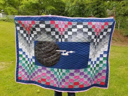 Star trek Quilt Stephanie H