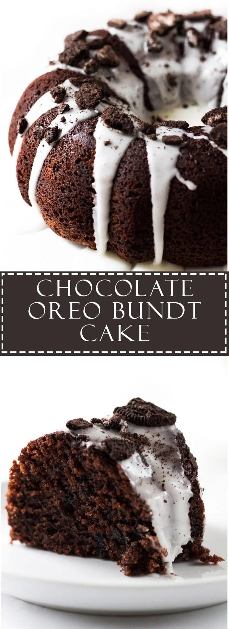 Chocolate Oreo Bundt Cake | Marsha's Baking Addiction