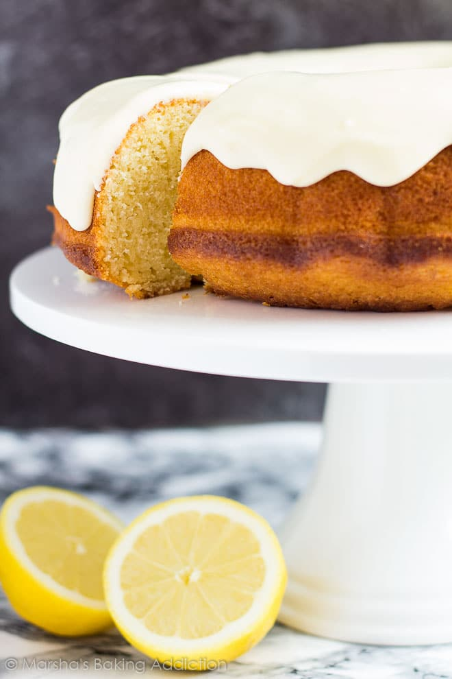Lemon Bundt Cake | Marsha's Baking Addiction