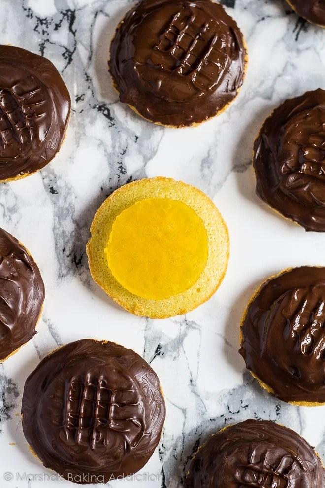 Homemade Jaffa Cakes   Marsha's Baking Addiction