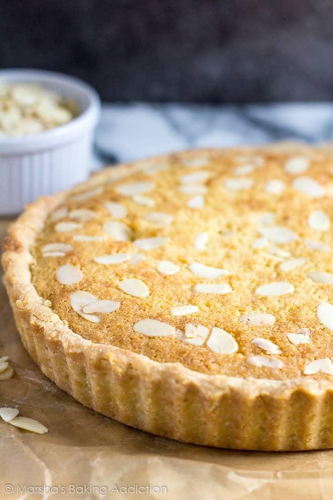 Bakewell Tart   Marsha's Baking Addiction