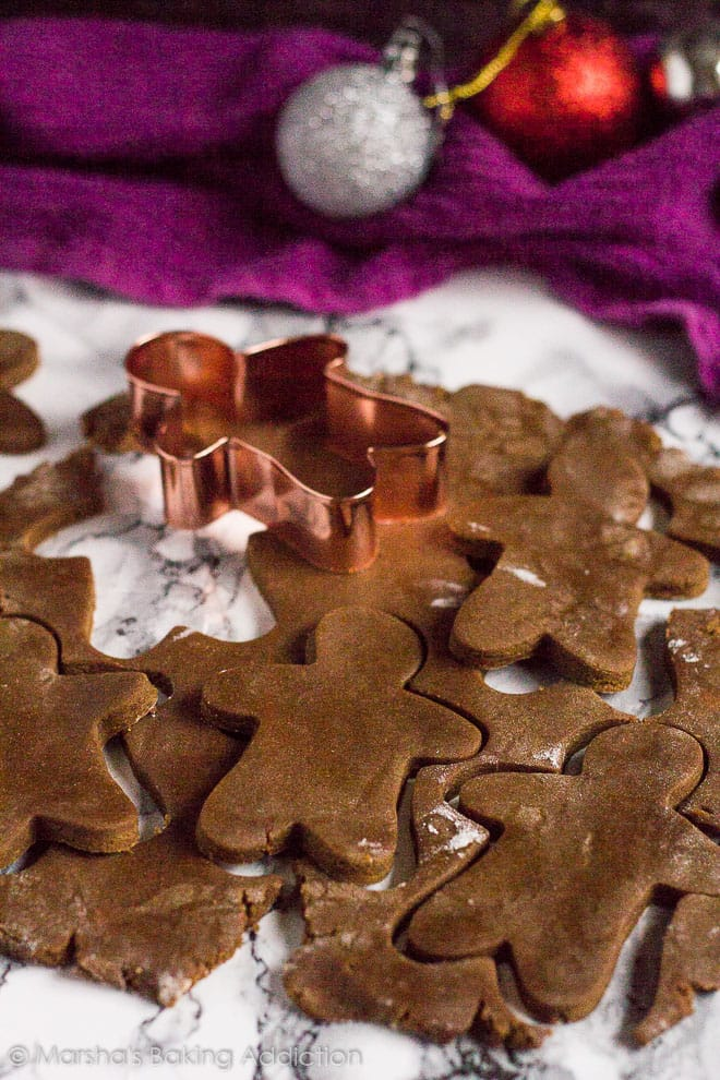 Gingerbread Men | marshasbakingaddiction.com @marshasbakeblog