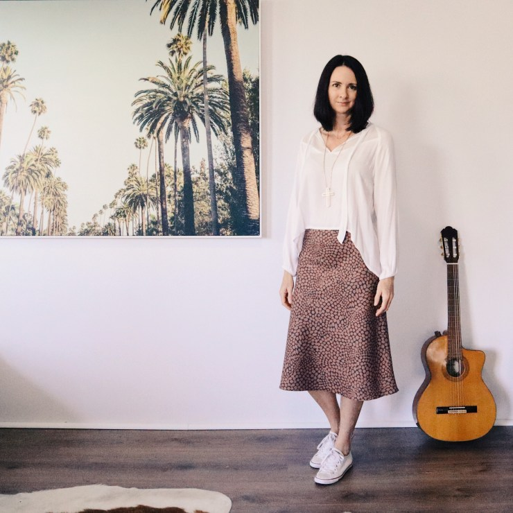 Evie Bias Cut Skirt