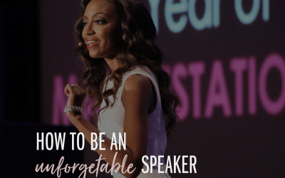 How to Be An Unforgettable Speaker