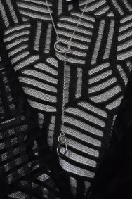 Body - as before; sterling silver necklace - ebay