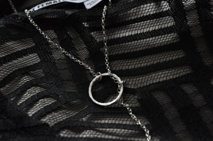 Body - as before; sterling silver necklace - as before