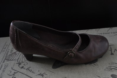 Shoes - Clarks; trunk - HomeSense