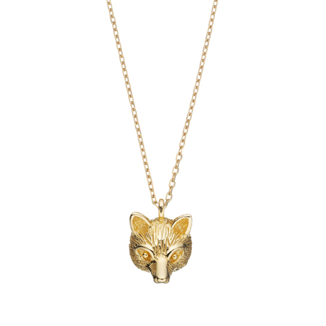 Fox Head Necklace, Estella Bartlett