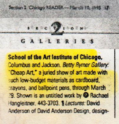 Chicago Reader - March 10, 1995