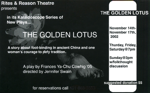 The Golden Lotus, 2002