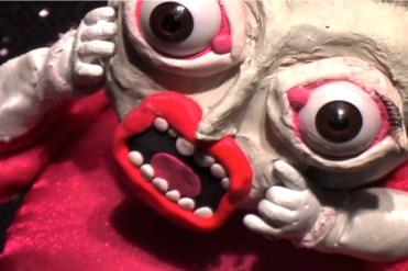 Growing Up Linda, puppet animation still, 2007, Marsian De Lellis